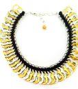 Golden Pop tabs Necklace