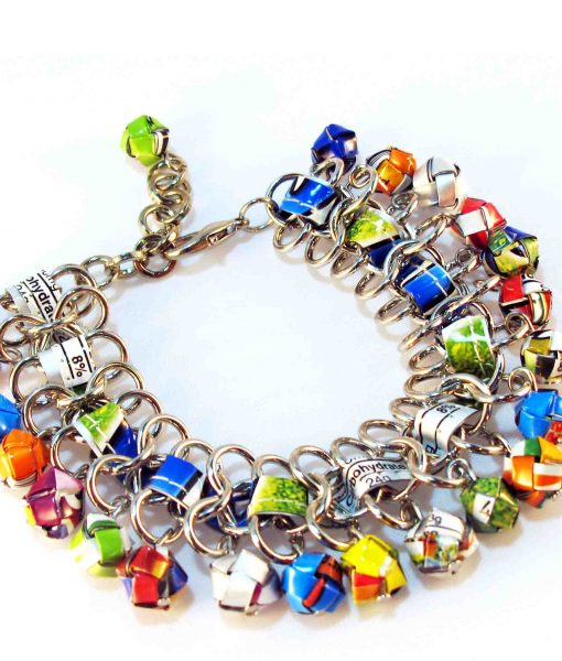 recycled bracelet chic