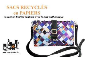 Catalogue sacs en papier et cuir