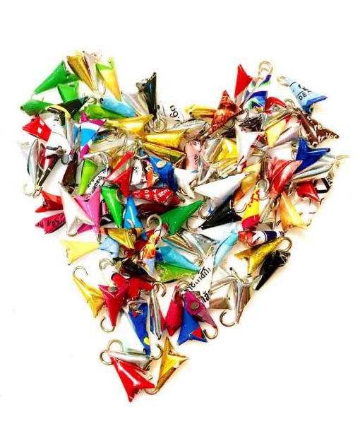 origami-recycled-triangle-for-jewelry&